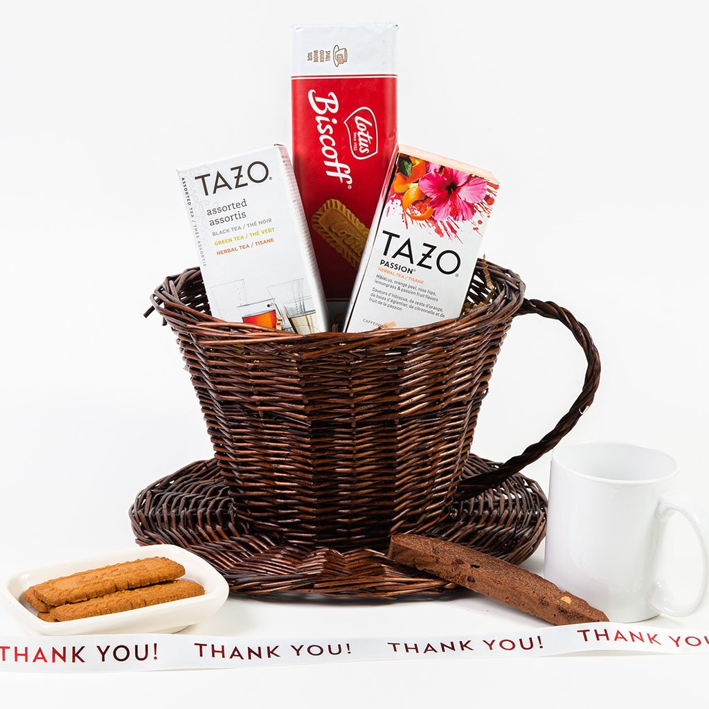 Any Time is Tea Time Thank You Gift Basket