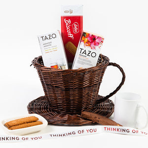Any Time is Tea Time Thinking of You Gift Basket