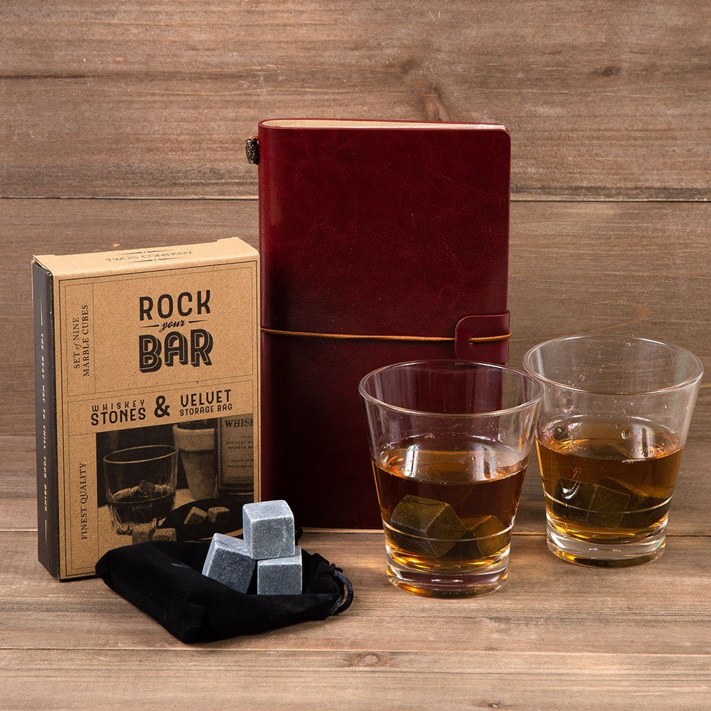 Whiskey on the Rocks Gift Set - GiftBasket.com - Gift Set