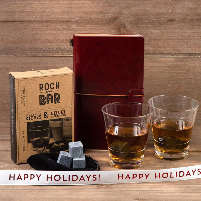 Whiskey on the Rocks Holiday Gift Set