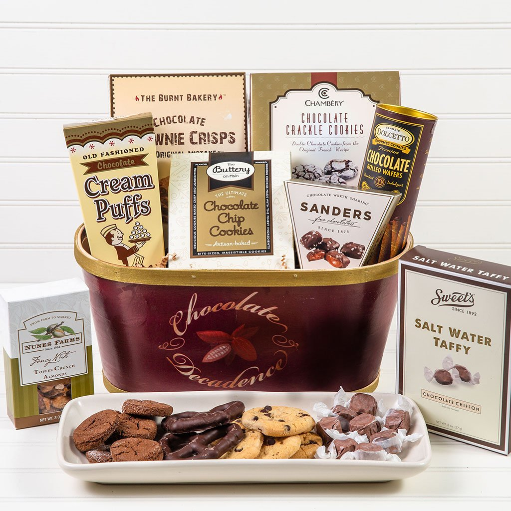 Deliciously Decadent Chocolate Gift Basket