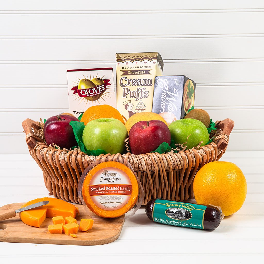 The Perfect Mix Sweet and Savory Gift Basket