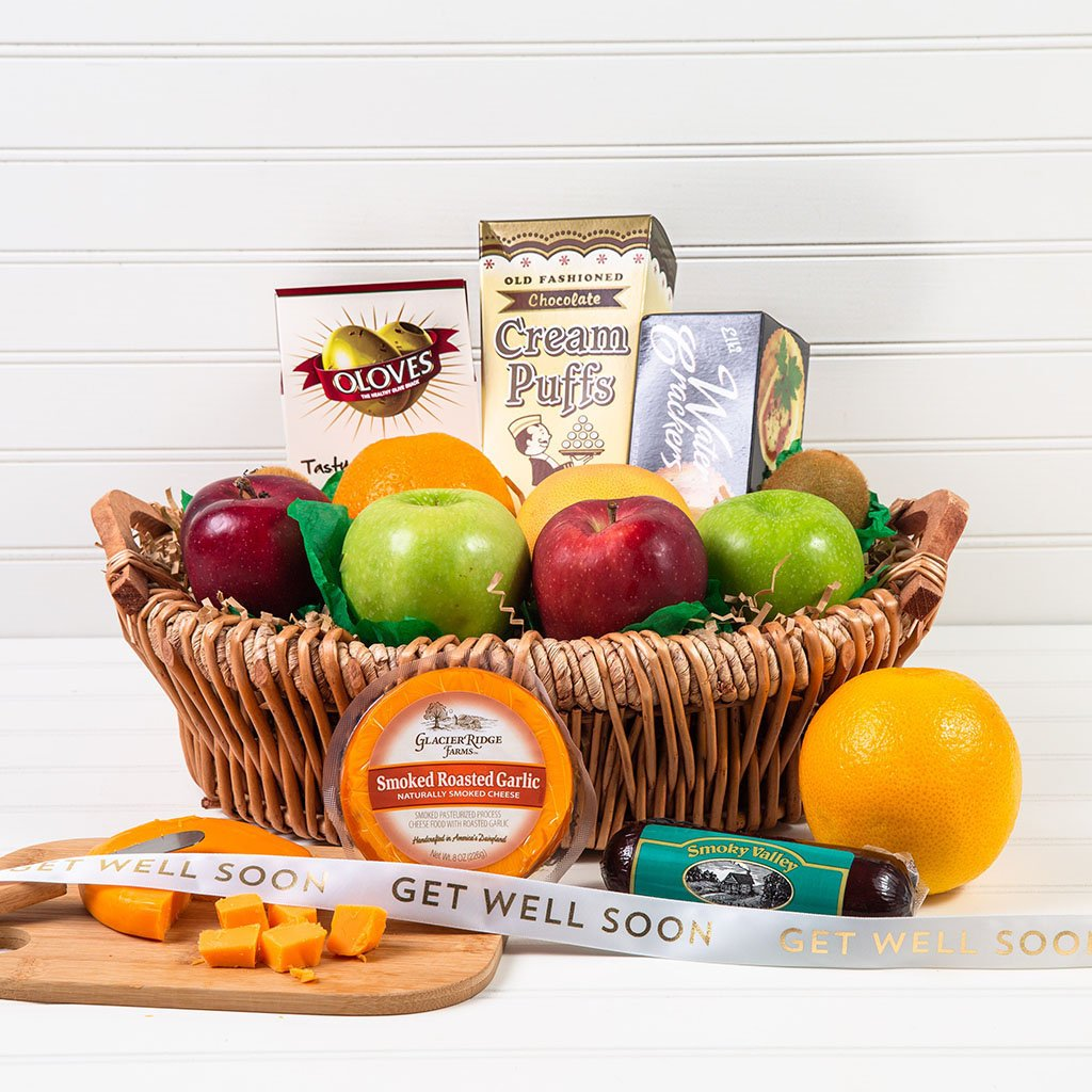 The Perfect Mix Sweet and Savory Get Well Gift Basket
