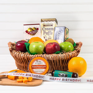The Perfect Mix Sweet and Savory Birthday Gift Basket