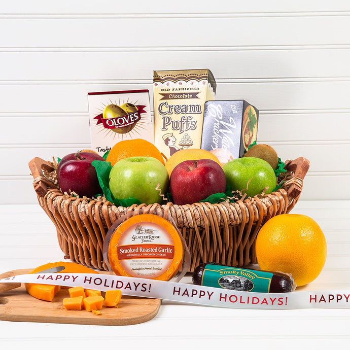 The Perfect Mix Sweet and Savory Holiday Gift Basket