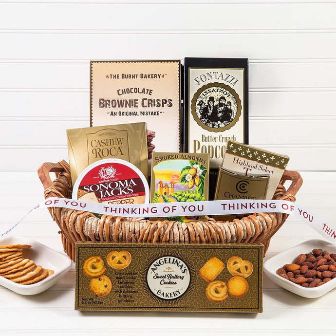 The Lavish Treats Thinking of You Gift Basket