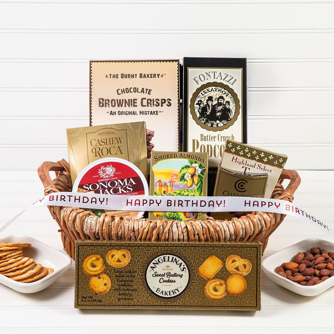The Lavish Treats Birthday Gift Basket