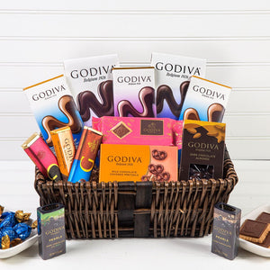 Delicious Dreams of Chocolate Holiday Gift Basket - GiftBasket.com - Gift Basket