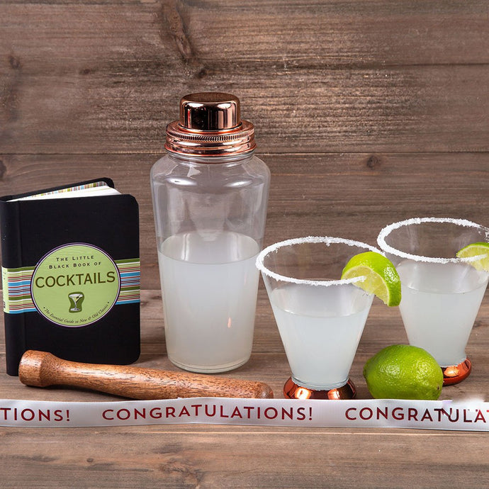 Shaken Not Stirred - Congratulations - GiftBasket.com - Gift Set