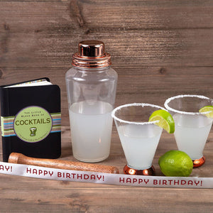 Shaken Not Stirred - Happy Birthday - GiftBasket.com - Gift Set