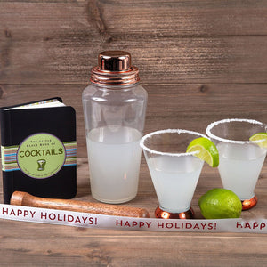 Shaken Not Stirred - Happy Holidays - GiftBasket.com - Gift Set