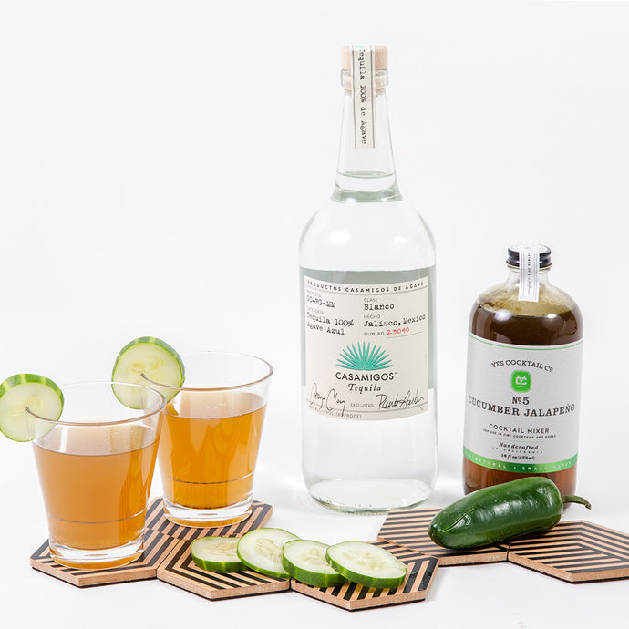 This Calls For Cocktails Gift Set With Casamigos Tequila - GiftBasket.com - Gift Set