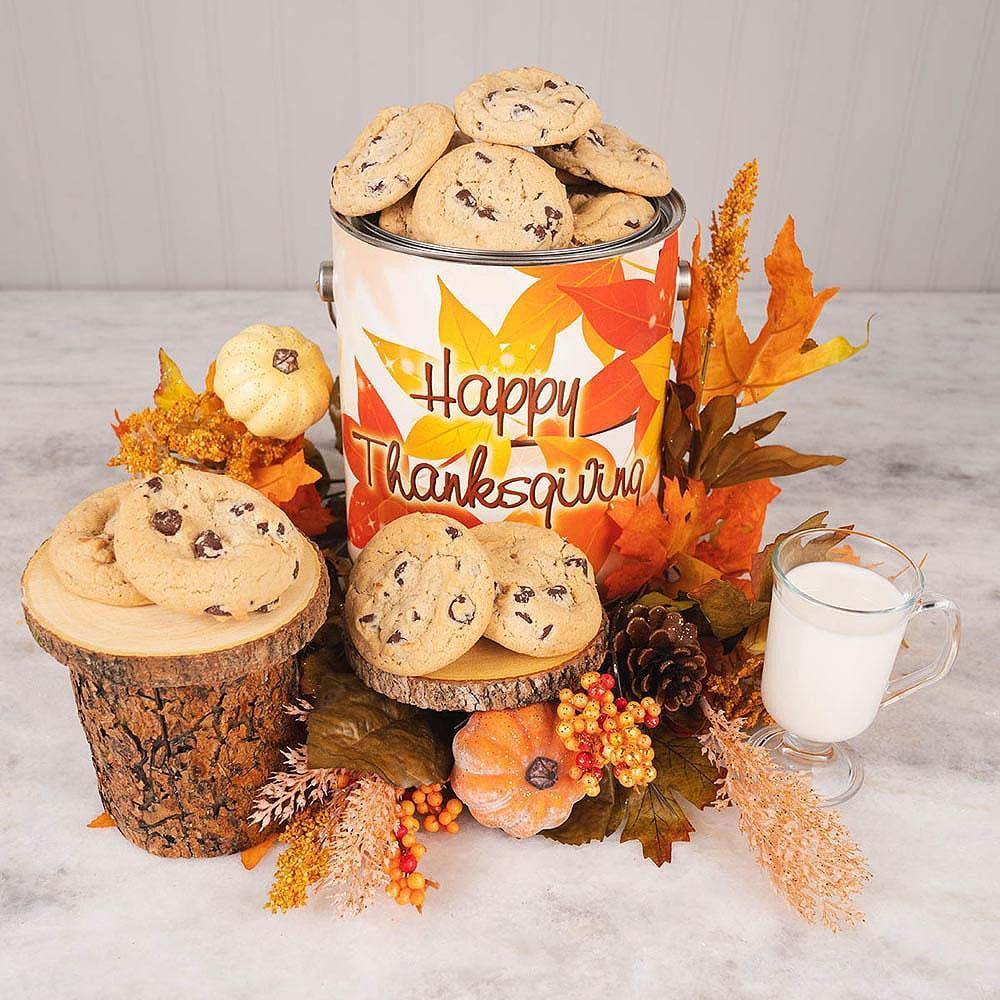 Give Thanks for Cookies Gift Tin
