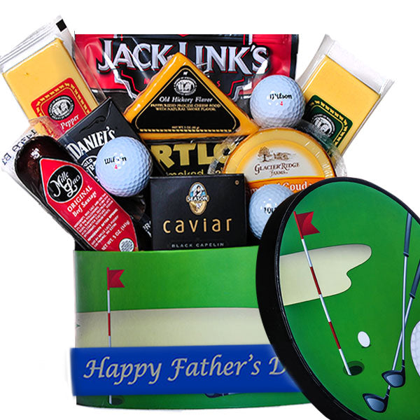 Father's Day Golfer's Gift Basket