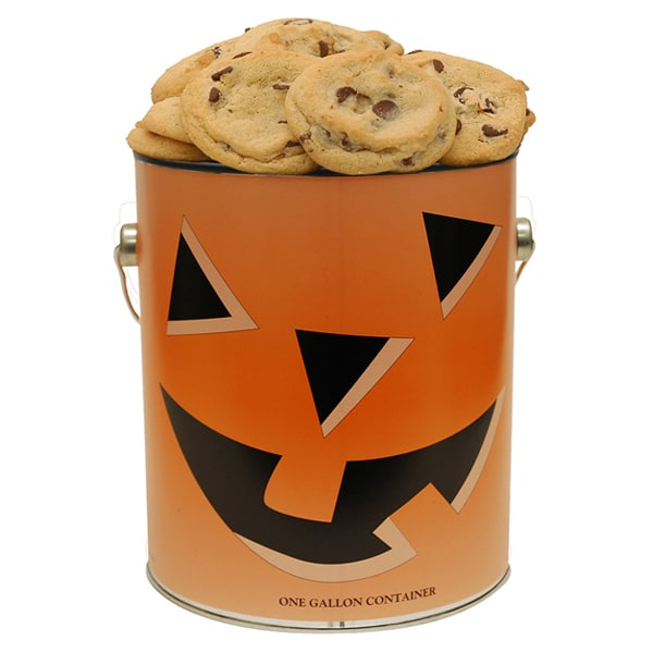 Halloween Cookie Tin- 1 Gallon