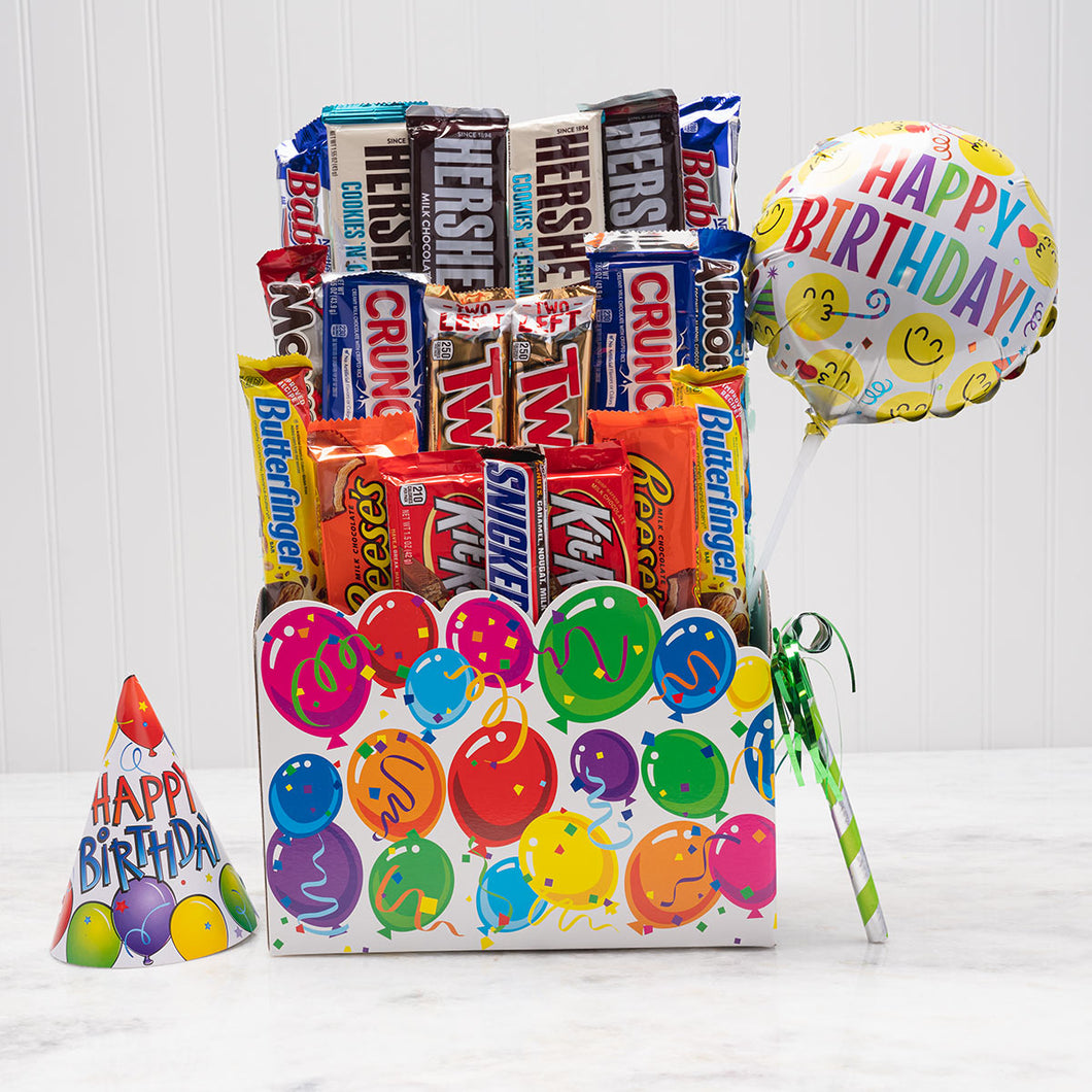 Have a Sweet Day Birthday Candy Basket