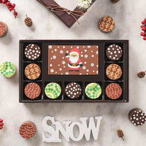 Ho Ho Ho! Chocolate Truffles Gift Box