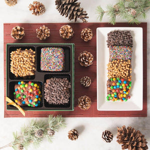 Holiday Tele-Graham Chocolate Covered Graham Crackers