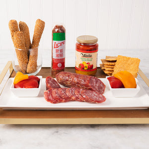 Hot Hot Hot! Italian Antipasto Gift Box