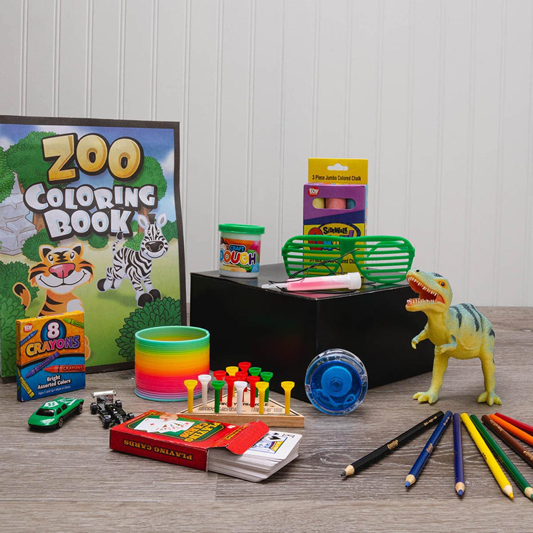 Kid's Activity Box of Fun - GiftBasket.com - Gift Box
