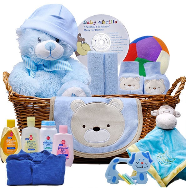 Welcome Little One Baby Gift Basket - GiftBasket.com - Gift Basket