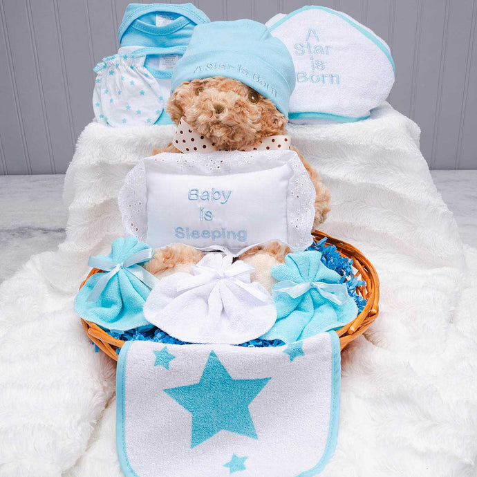 Oh Baby! Welcome Baby Gift Basket