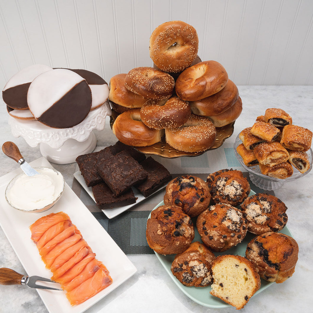 The New Yorker- Bagel & Appetizing Package - GiftBasket.com - Gift Box