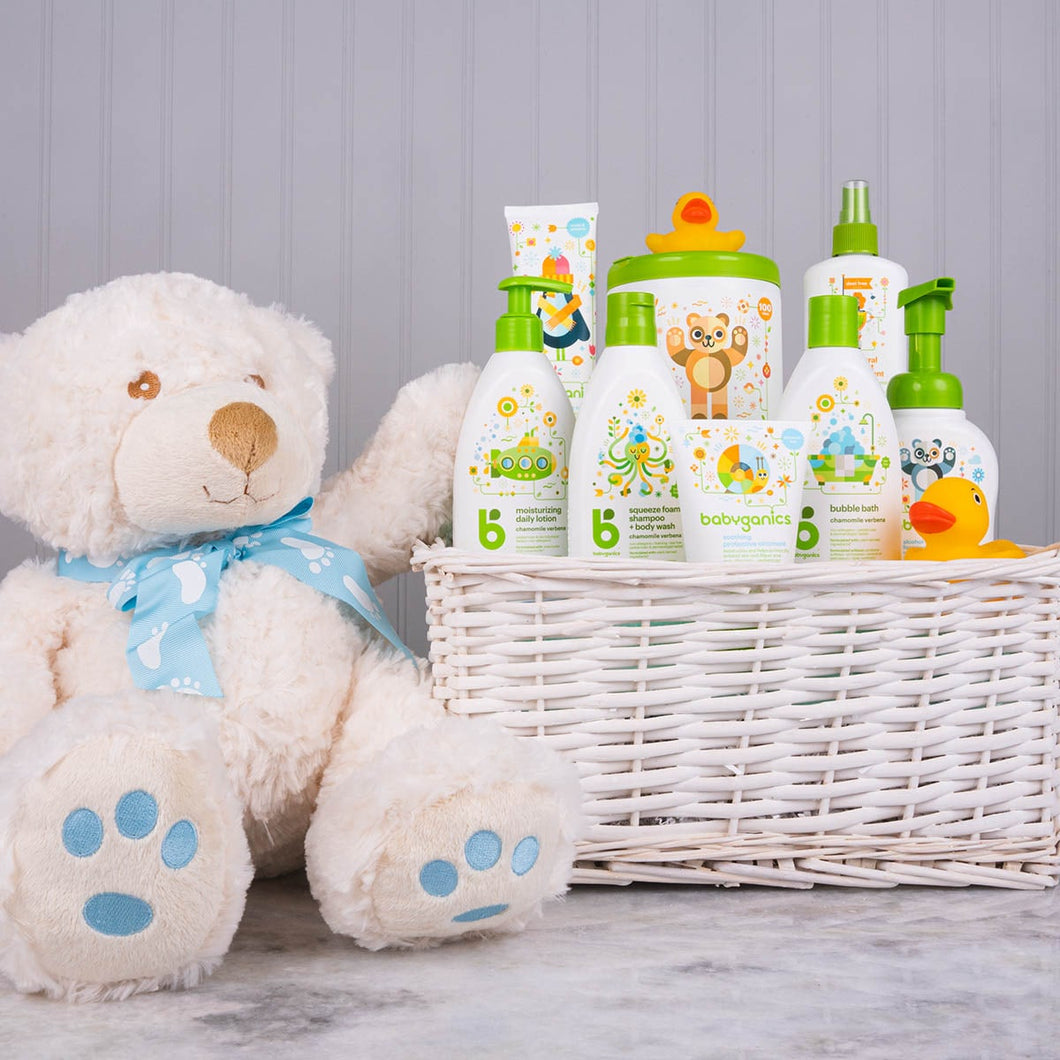 Only the Best for Baby Boy Gift Basket - GiftBasket.com - Gift Basket