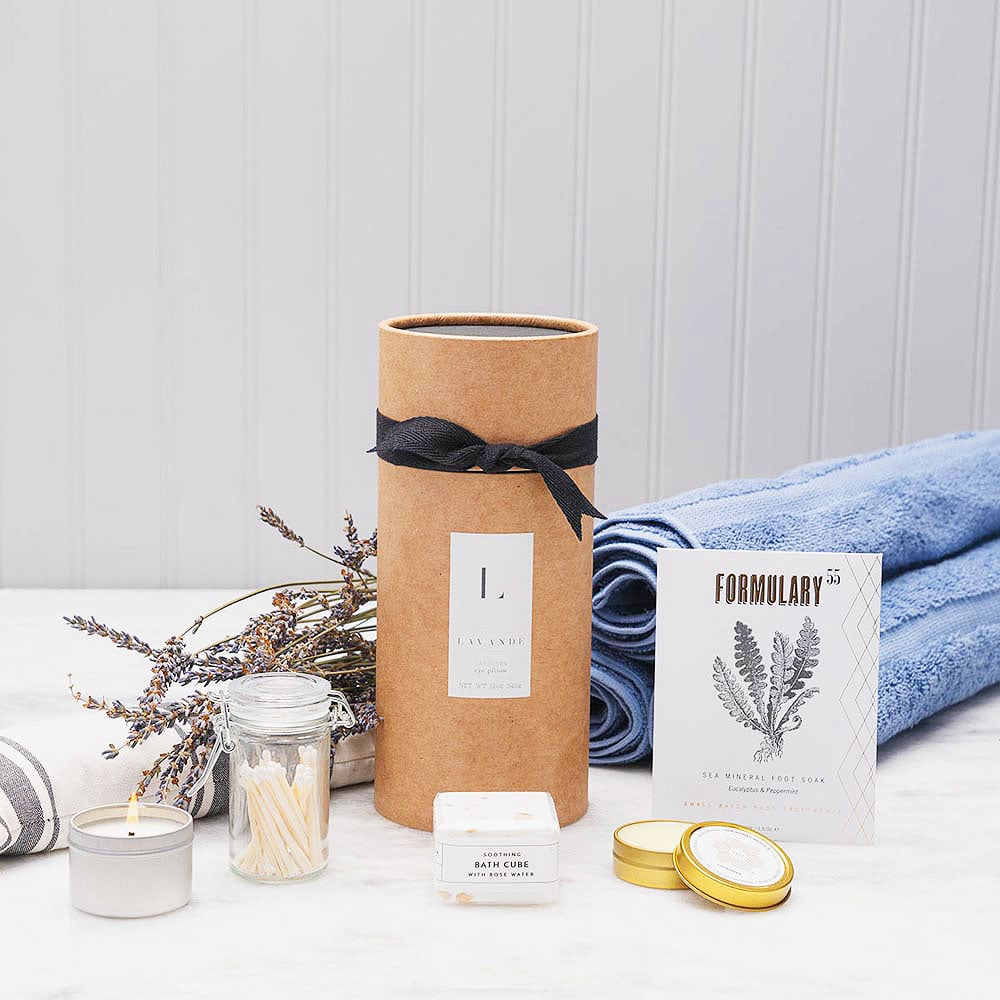 Spa Gift Basket - Relax The Day Away Spa Gift Set by GiftBasket.com