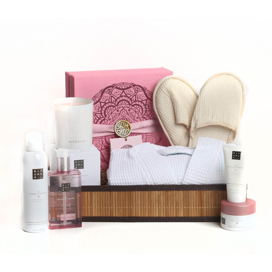 Luxury Women's Spa Package- Featuring Ritual of Sakura Gift Set