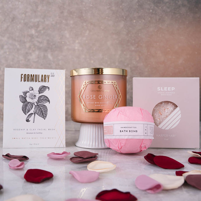 Rose Dream Spa Set - GiftBasket.com - Gift Set