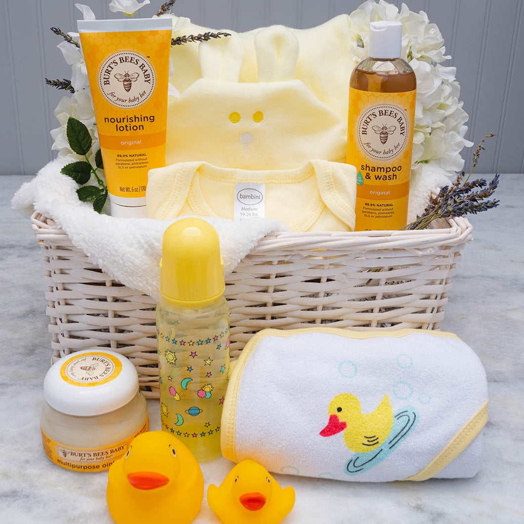 Rubber Ducky, You're the One Baby Bath Basket
