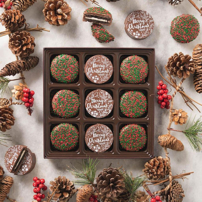Santa's Favorite Chocolate Covered Oreos