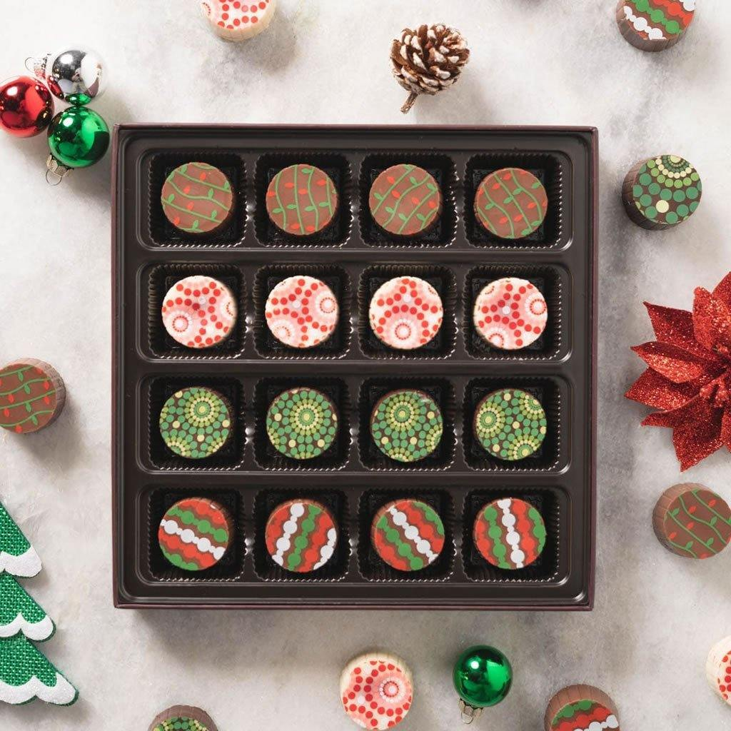 Seasons Greetings Chocolate Truffles