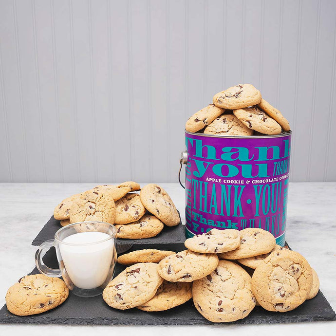 You Earned a Cookie- 1 Gallon Cookie Tin - GiftBasket.com - Gift Tin