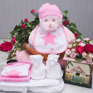 The Bear Essentials Baby Gift Basket