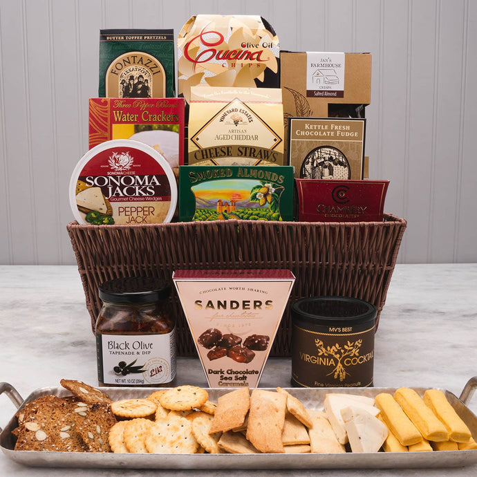 The Connoisseur Basket - GiftBasket.com - Gift Basket