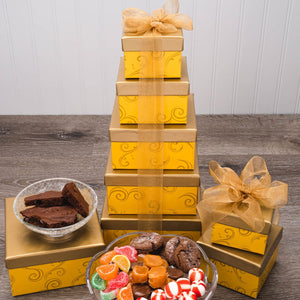 The Golden Rule Gift Tower