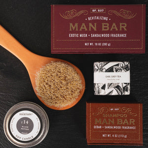 The Sophisticated Man Grooming Spa Set - GiftBasket.com - Gift Set