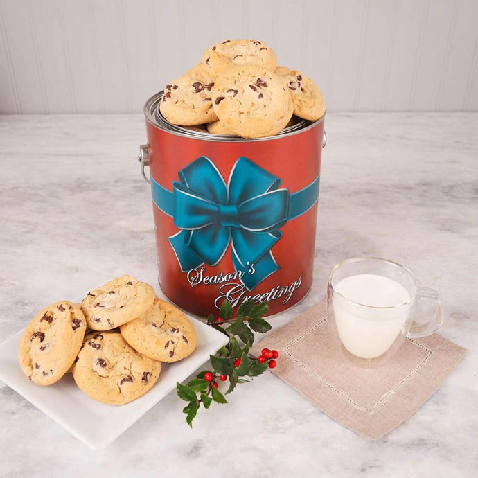 Tis the Season Holiday Cookie Tin