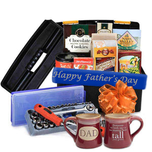 Father's Day Mechanic Lover's Toolbox with Mug