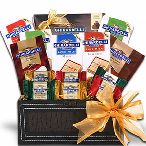Ghirardelli Gift Trunk of Excellence - GiftBasket.com - Gift Basket