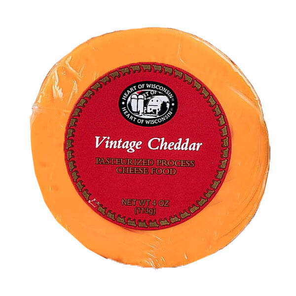 Millie Lacs Vintage Round Cheddar Cheese
