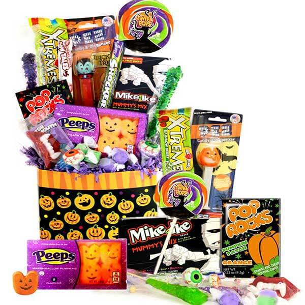 Xtreme Halloween Treats - GiftBasket.com - Gift Tin