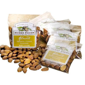 Nunes Farms Whole California Almonds - GiftBasket.com