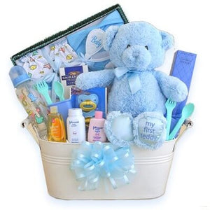 The Works Baby Gift Basket - GiftBasket.com - Gift Basket