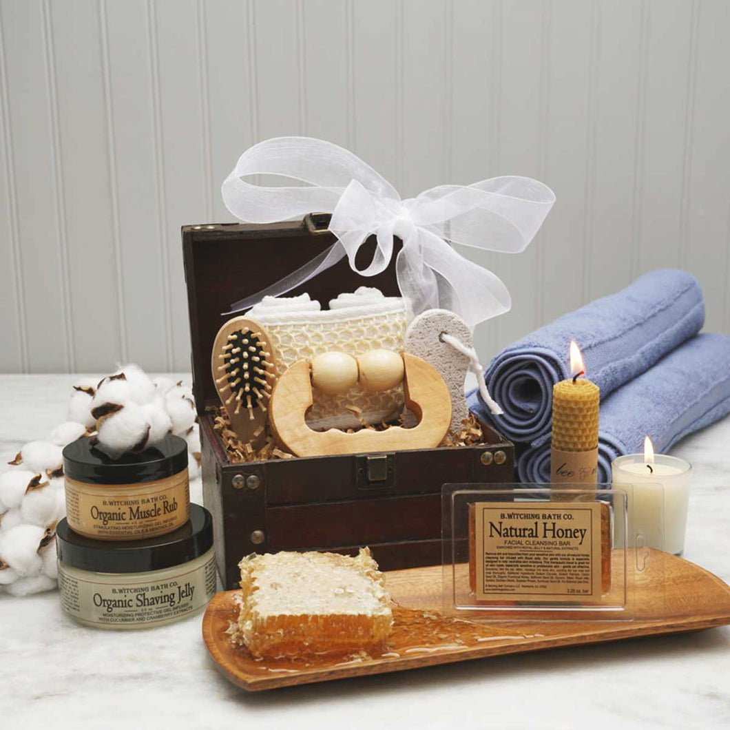 The Man Spa Gift Basket - GiftBasket.com - Gift Basket