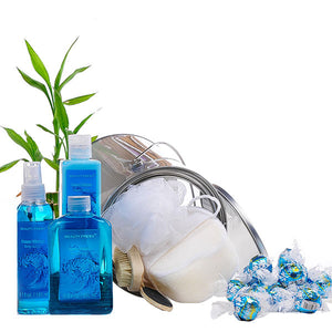 Ocean Waters Basket - GiftBasket.com - Gift Tin