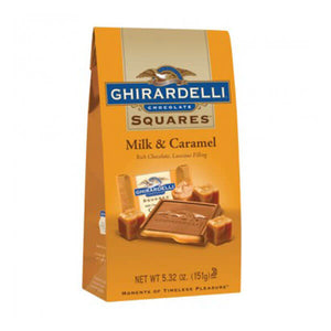 Ghirardelli Milk and Caramel Squares (10 pcs)