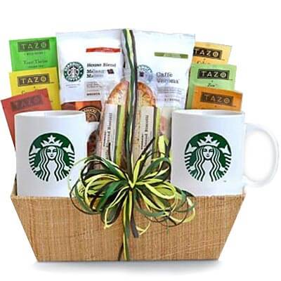 Pick Me Up Before You Go Go Tea & Coffee Basket